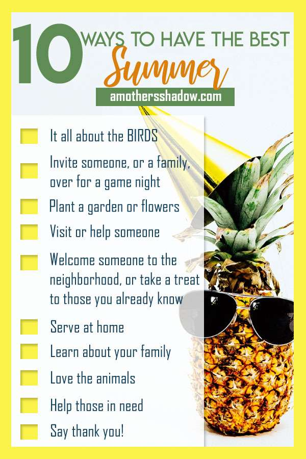 10 Summer Serve and Learn Activities