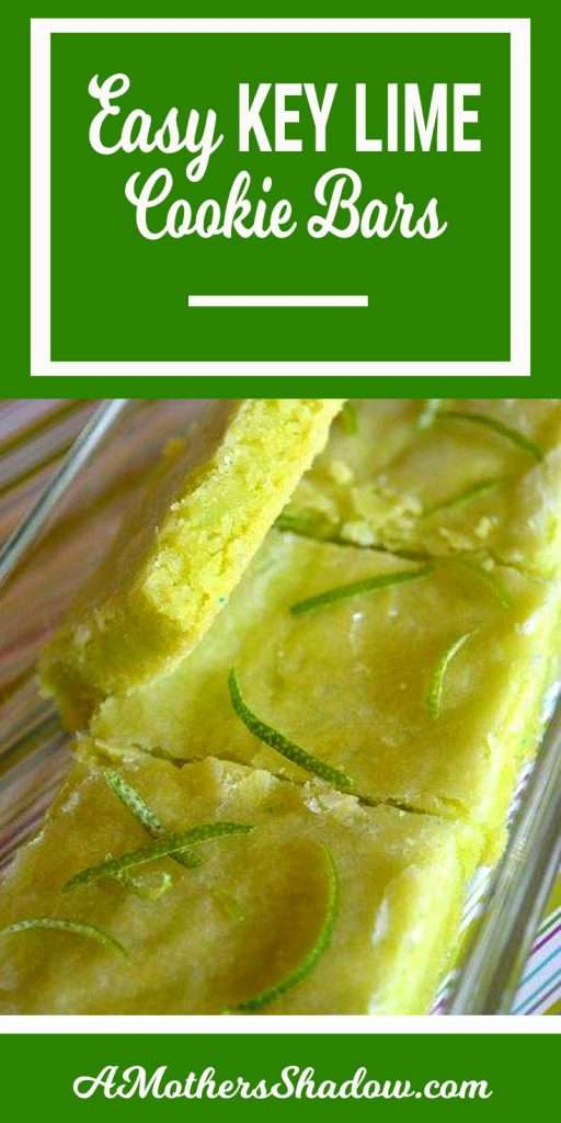 CookieTangy and slightly sweet Key Lime Dessert Bars