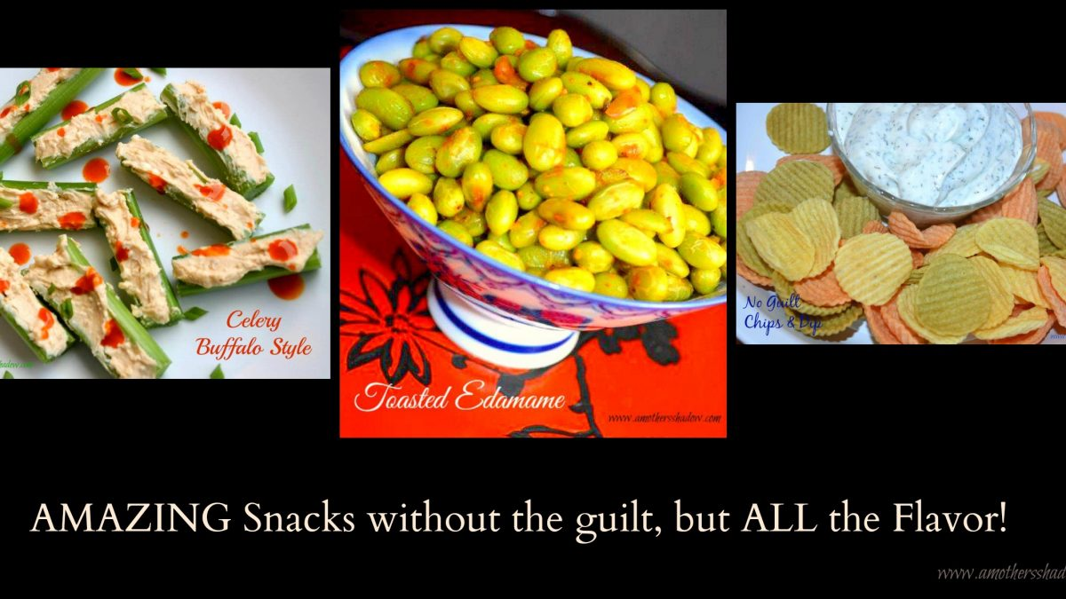 3 AMAZING Guilt-Free Low-Fat Appetizers/Snacks