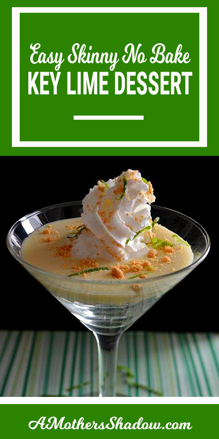 Key lime low fat dessert that has a beautiful presentation and is delicious also