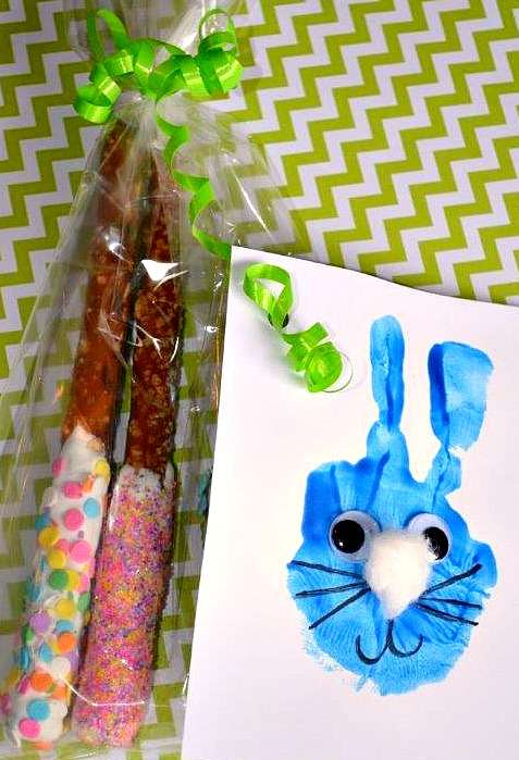 Kids craft and treat for Easter