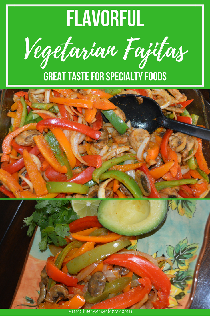 Easy Vegetarian Fajitas