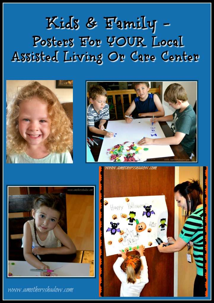 Posters For Local Assisted Living Or Care Center