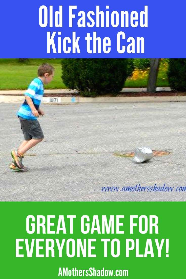 Old Fashioned Game of Kick The Can