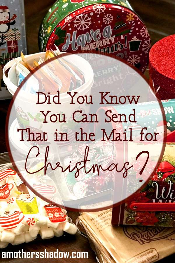 Did You Know You Can Mail Holiday Gifts THIS Way?