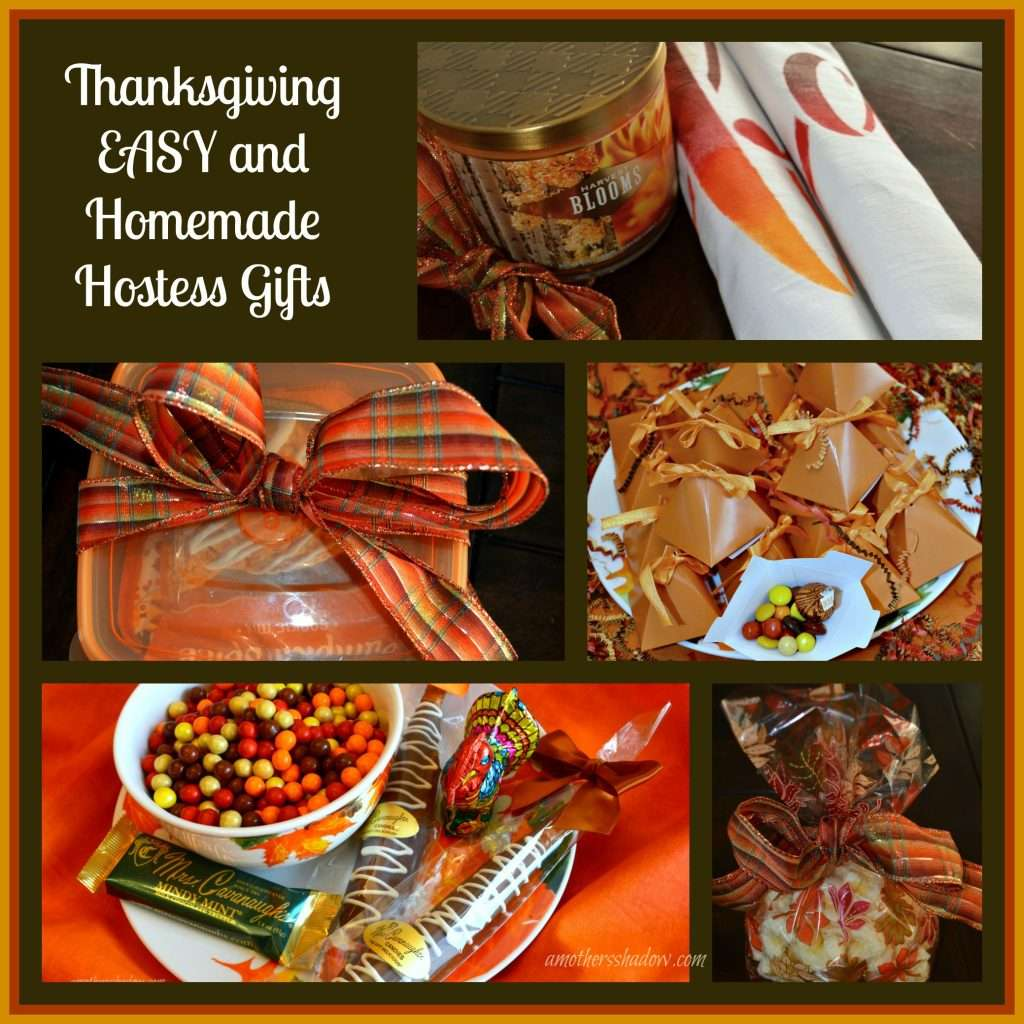 Thanksgiving EASY and Homemade Hostess Gifts