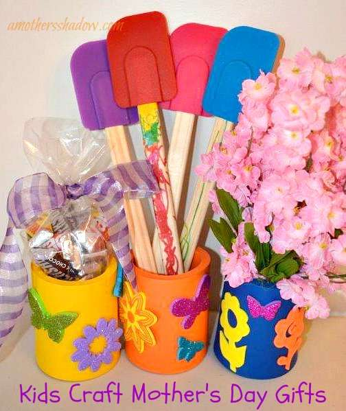 5 Kid Craft and Mother's Day Gifts