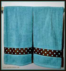 How to make a towel for a gift by sewing or no-sew