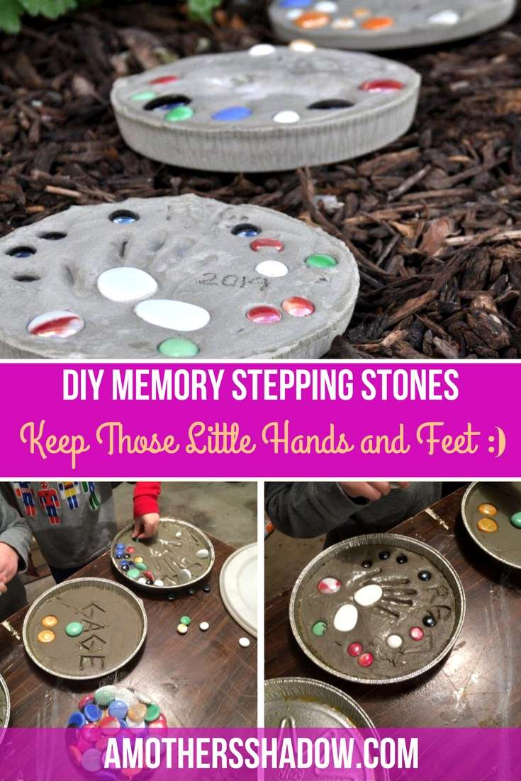 DIY Memory Stepping Stone