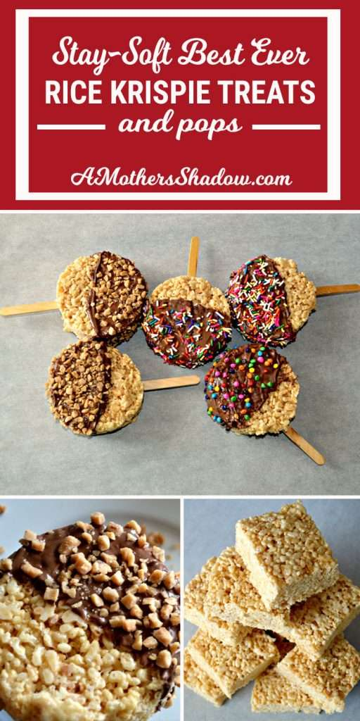 Various ways to use the recipe for rice Krispie treats