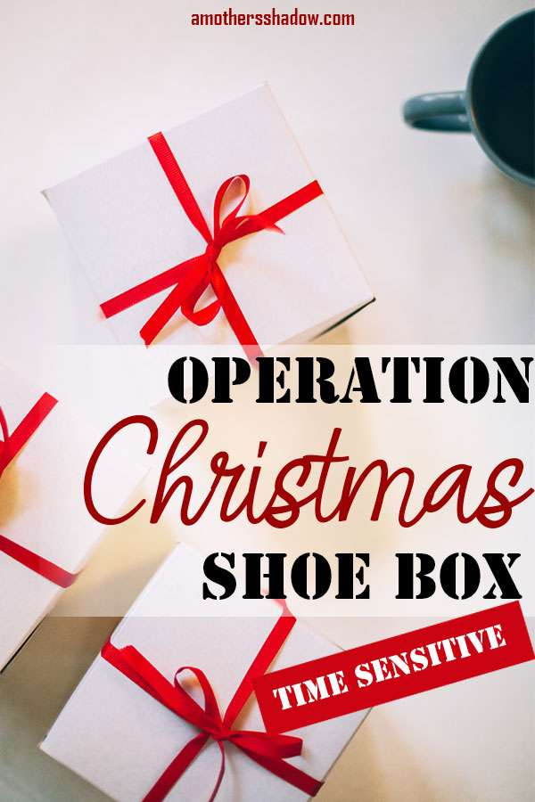 Operation Christmas Shoe Box