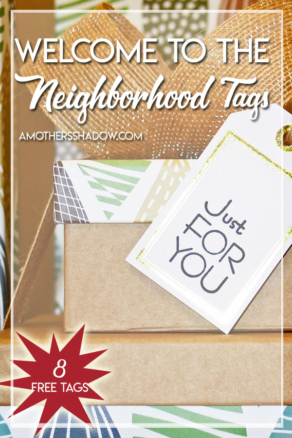graphic relating to Welcome to the Neighborhood Printable named Absolutely free Editable/Fill-within just Welcome Local Tags - A Moms